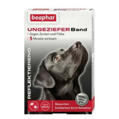 Beaphar fluorescencyjna obroża owadobójcza dla psów 65cm
