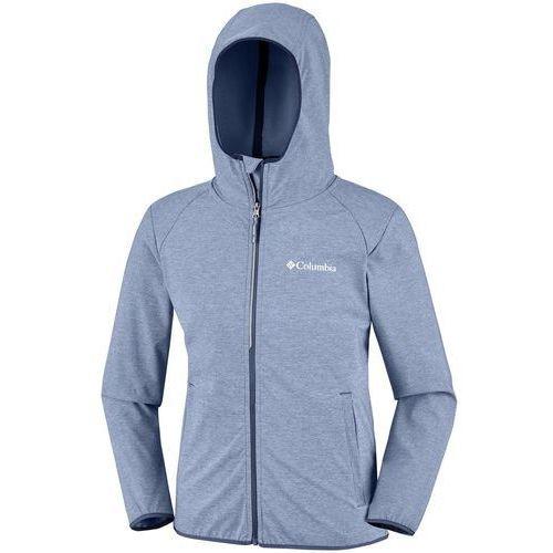COLUMBIA bluza softshell chłopięca Heather Canyon 116 szara, kolor szary