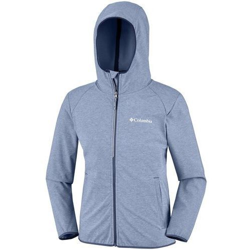COLUMBIA bluza softshell chłopięca Heather Canyon 164 szara, kolor szary