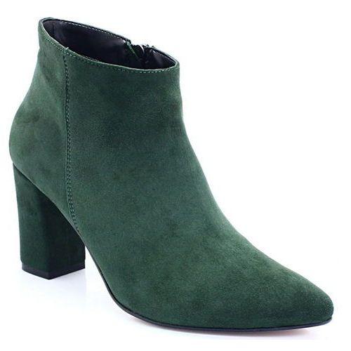9be4e8b74f2fd6 TYMOTEO TYMOTEO 105A ZIELONE - Klasyczne botki - Zielony, kolor zielony
