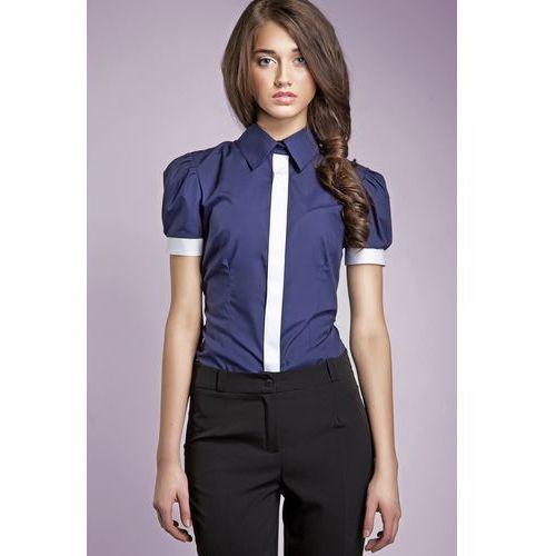 Błękitna koszula w serduszka , kolor niebieski (Anataka  A0reL