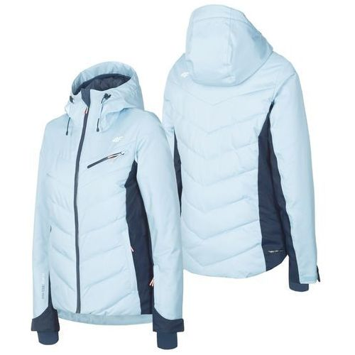 ▷ Damska kurtka narciarska h4z19 kudn005 niebieski 34s s