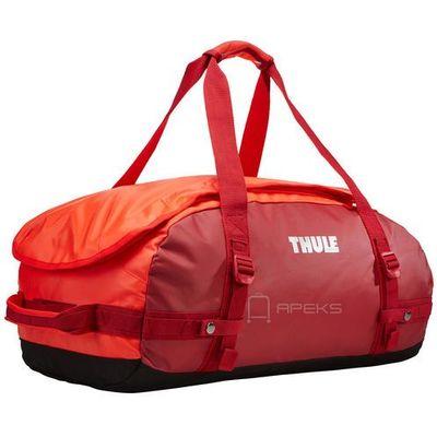 52bd63758b8a2 chasm 40l torba podróżna / plecak sport duffel s / czerwono - pomarańczowa  - roarange marki Thule Apeks.pl