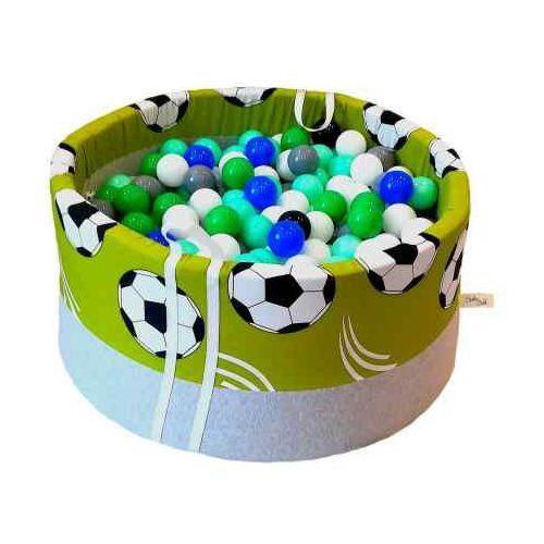 Babyball Suchy basen z piłeczkami dla dzieci piłka nożna