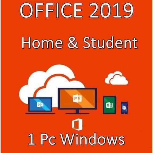 Office Home & Student 2019/Wersja PL/Klucz elektroniczny/Szybka wysyłka/F-VAT 23%