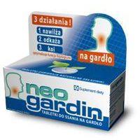 Tabletki NEOGARDIN NA GARDŁO x 20 tabletek do ssania