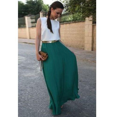 Sukienka KASSIDI, kolor zielony