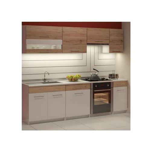 Zestaw mebli kuchennych ALIS kolor Biały, san remo DEFTRANS