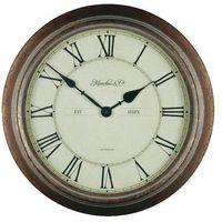 Techno line Zegar ścienny analogowy  wt 7006 kwarcowy, (Øxg) 36 cmx7 cm