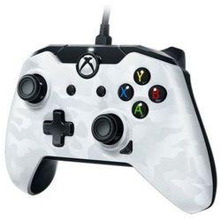 Ghost white do xbox one/pc kontroler marki Pdp