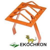 Ekochron spółka z ograniczoną odpowiedzialnością, spółka komandytowa Kratka ochronna komina 15x20 cm ceglasty (ral 8004)