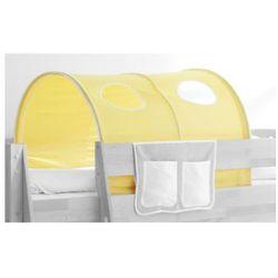 Ticaa ticaa tunel do łóżek piętrowych dworek kolor żółto-biały marki Ticaa kindermöbel