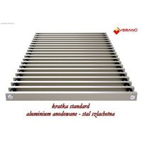 Kratka standard - 25/355  do grzejnika vkn5, aluminium anodowane o profilu zamkniętym marki Verano