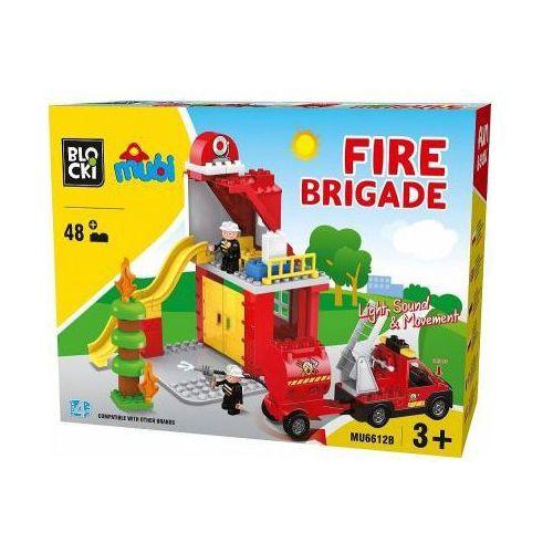 Klocki Blocki Straż pożarna 59 elementów