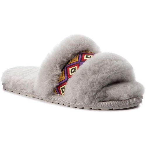 nowy koncept obuwie na sprzedaż online Kapcie - Wrenlette Tribal W11904 Dove Grey, kolor szary (EMU Australia)