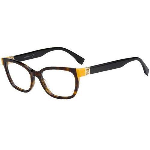 Fendi Okulary korekcyjne ff 0130 trd