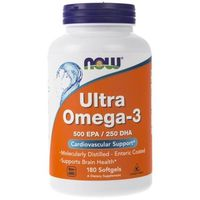 Now Foods Ultra Omega-3 500 EPA / 250 DHA - 180 kapsułek