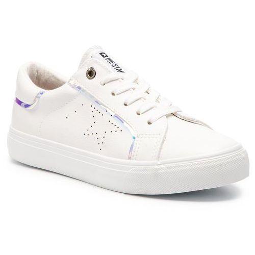 Sneakersy BIG STAR - DD274070 White, kolor biały