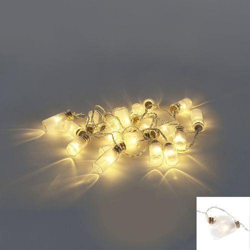Diverse Oswietlenie swiateczne lancuch swietlny mason 20 led barwa cieplo biala 1,9 m