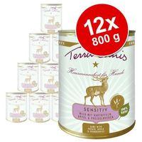 Korzystny pakiet bez zbóż, 12 x 800 g - indyk z dynią, selerem i rukwią wodną marki Terra canis