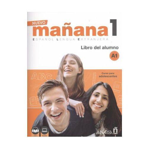 Manana Nuevo 1 A1. Podręcznik + Audio Online, oprawa miękka