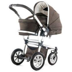 MOON Wózek wielofunkcyjny Luxx 981 denim brown + 3w1 gondolka