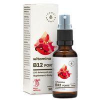 Aerozol AURA HERBALS 30ml Witamina B12 Forte Suplement diety w aerozolu