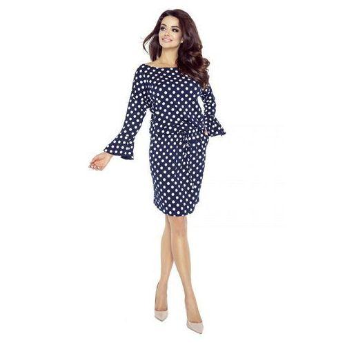Sukienka z rozkloszowany rękawem, M49844_1_s