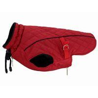Grande finale kurtka u12 czerwony kubraczek dla psa pikowana końcówka kolekcji