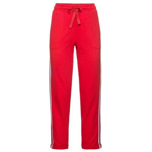 Bonprix Spodnie dresowe truskawkowy
