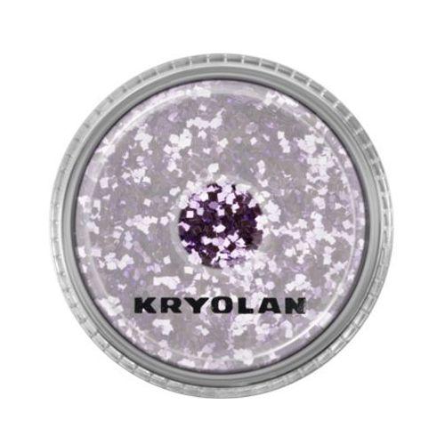Polyester glimmer coarse (lavender) gruby sypki brokat - lavender (2901) Kryolan - Najtaniej w sieci