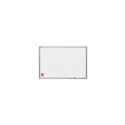 Tablica suchościeralna w kratkę ceramiczna 150x100 w ramie officeboard marki 2x3