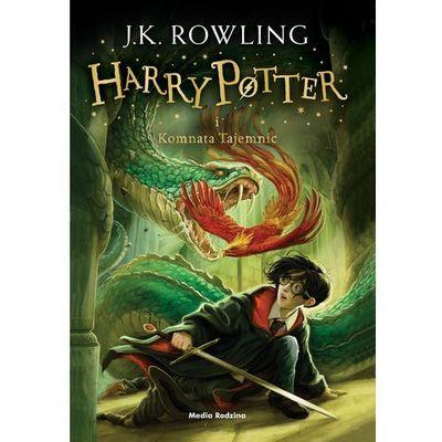 Harry Potter i komnata tajemnic BR w.2016 - Joanne Rowling, oprawa miękka