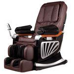 Fotel do masażu inSPORTline Masseria - Kolor Ciemny brązowy (8595153644758)