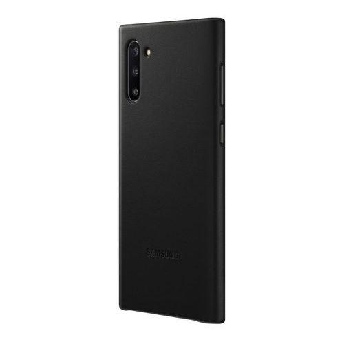 galaxy note10 leather cover ef-vn970lb (czarny) marki Samsung