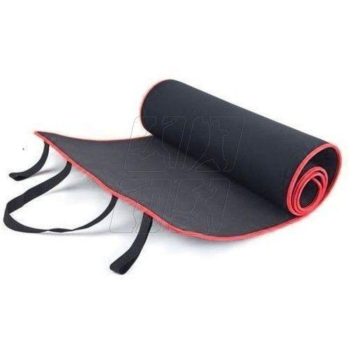 Mata do ćwiczeń 180 x 60 cm Allright czarno-czerwona, FIMATDBLRD