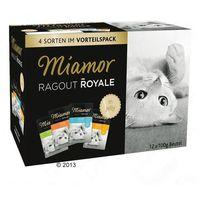 Zestaw ragout royale, 12 x 100 g - indyk, łosoś i cielęcina marki Miamor