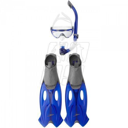 Speedo Zestaw do nurkowania glide mask, fins, snorkel set 82