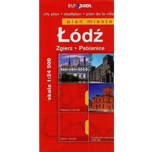 Plan miasta - Łódź, Zgierz, Pabianice