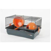 ZOLUX Klatka Indoor 50 cm szaro-pomarańczowa - DARMOWA DOSTAWA OD 95 ZŁ! (3336020054134)