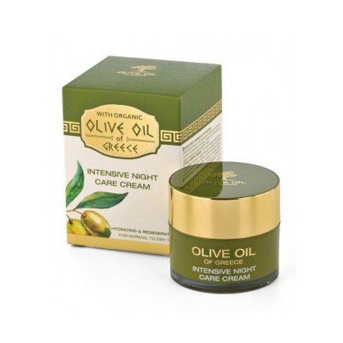 BioFresh Noc krem z oliwek do normalnej do wysuszenia skóry oliwy z oliwek w Grecji (intensywna terapia Kre