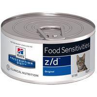 Hills prescription diet Hill's pd prescription diet feline z/d food sensitivities 12x156g puszka