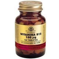 Naturalna Witamina B12 - 100 tabletek - Solgar Kurier: 13.75, odbiór osobisty: GRATIS! (033984031807)