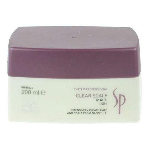 Wella sp clear scalp  maska przeciwłupieżowa 200ml 4015600085049
