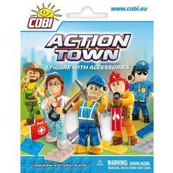 Action town: figurka z akcesoriami - . darmowa dostawa do kiosku ruchu od 24,99zł marki Cobi