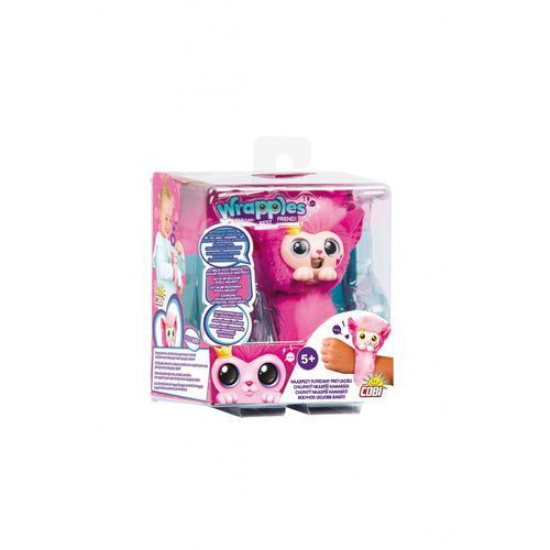 Cobi Wrapples maskotka interaktywna 3y36kd