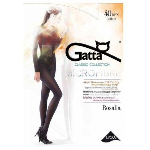 86102f820dedbd rosalia microfibre 40 den plus nero rajstopy marki Gatta - Galeria rosalia  microfibre 40 den plus