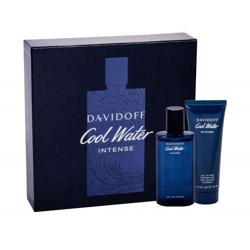 Davidoff cool water intense zestaw edp 75 ml + żel pod prysznic 75 ml dla mężczyzn