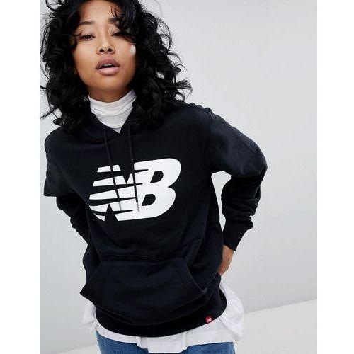 niesamowite ceny gorąca wyprzedaż najlepsze ceny Logo Hoodie In Black - Black (New Balance)