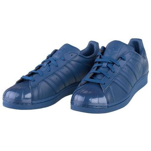 Superstar glossy toe w s76723 - granatowy, Adidas